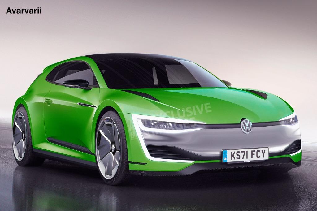 2021 Volkswagen Scirocco Concept