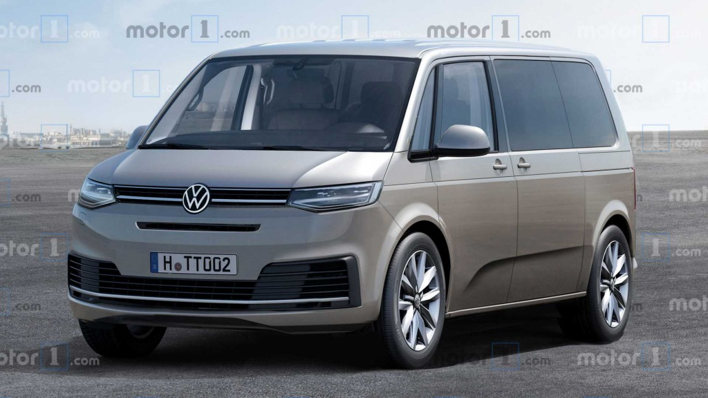 2021 Volkswagen Transporter Spy Photos