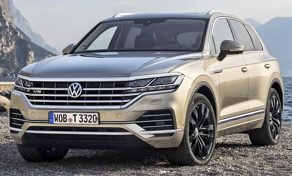 2021 VW Touareg Engine