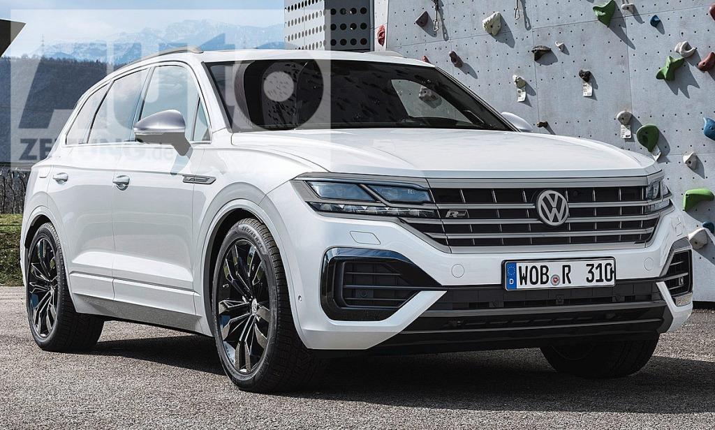 2021 VW Touareg Redesign