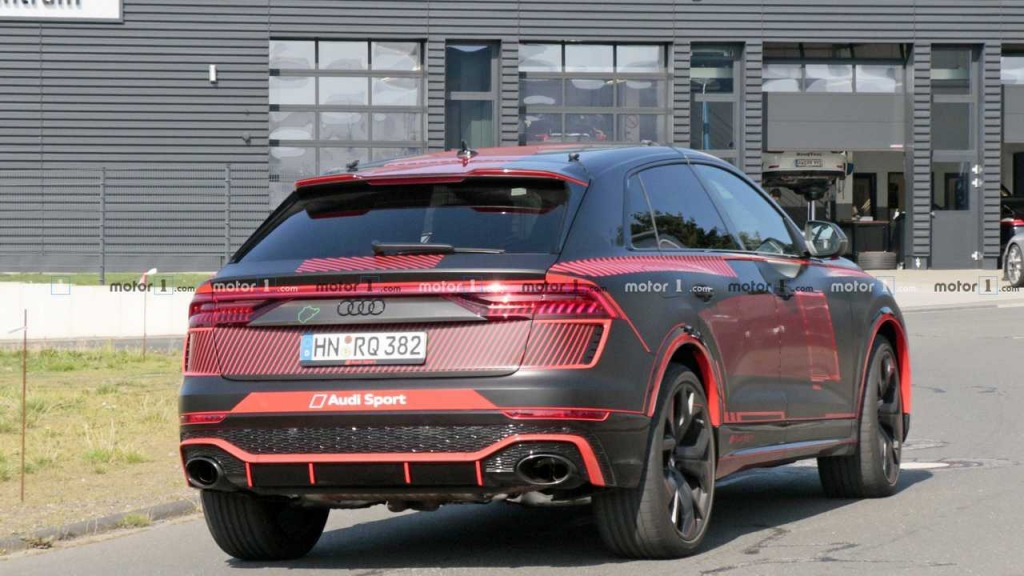 2021 Audi Q8 Drivetrain