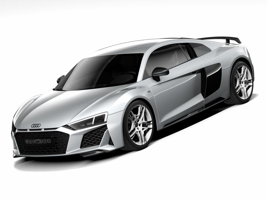 2021 Audi R8 Drivetrain