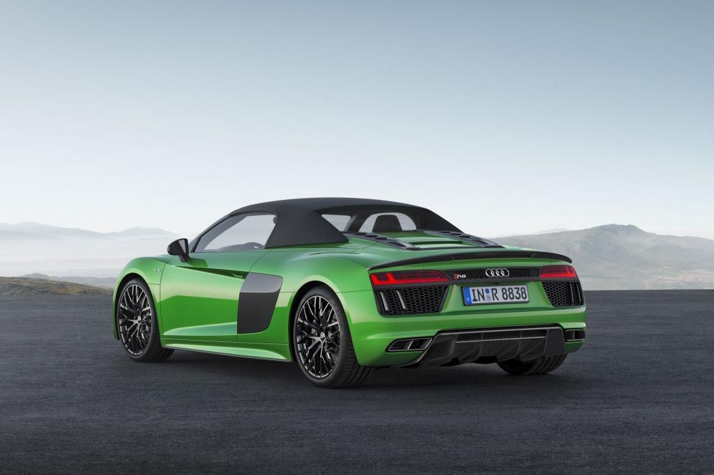 2021 Audi R8 LMXs Engine