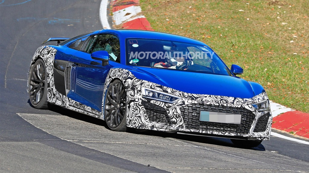 2021 Audi R8 LMXs Powertrain
