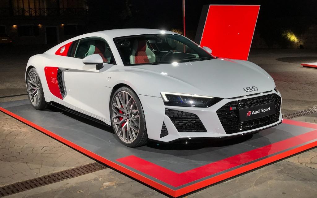 2021 Audi R8 LMXs Spy Photos