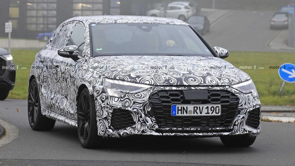 2021 Audi RS3 Spy Photos