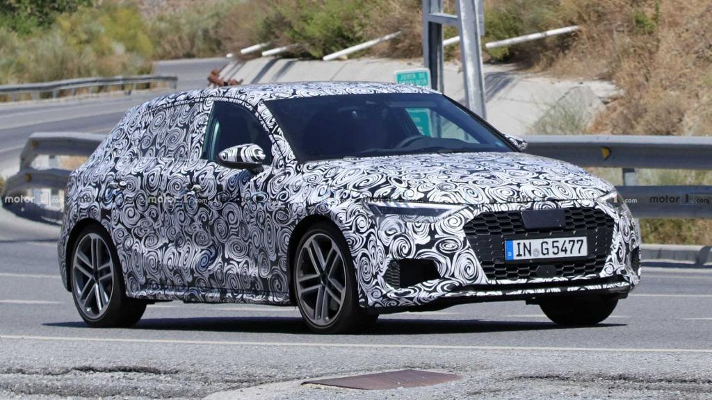 2021 Audi RS3 Spy Shots