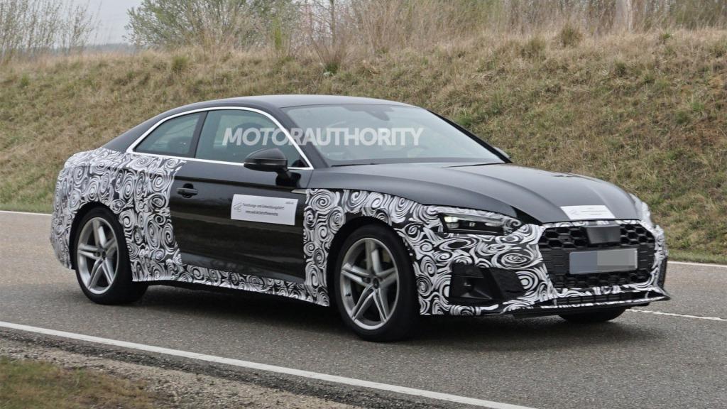 2021 Audi Rs5 Spy Photos