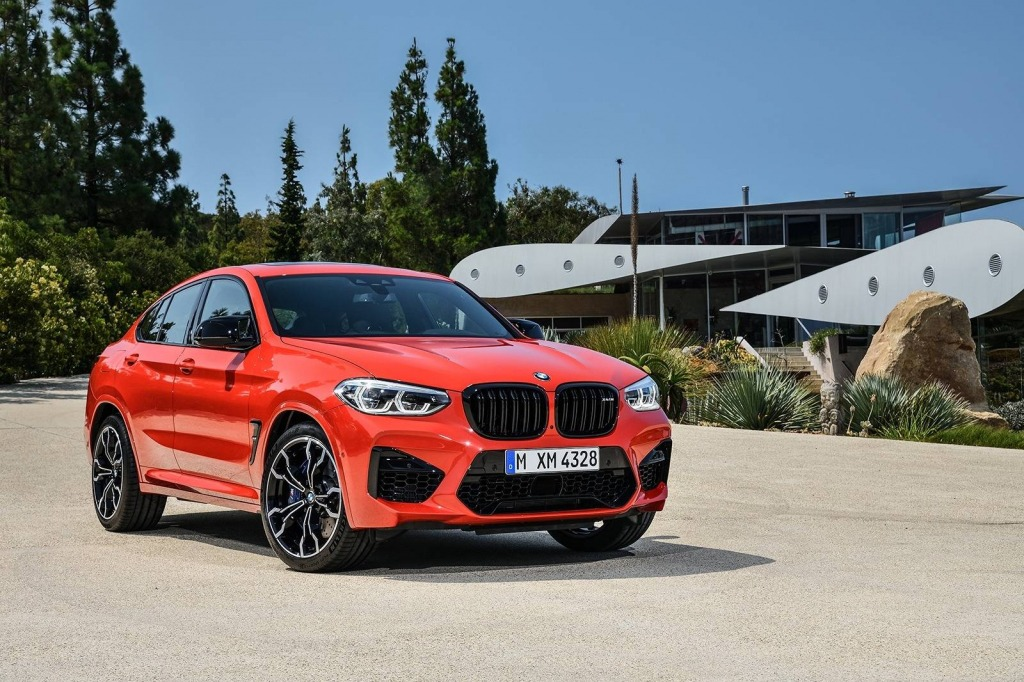 2021 BMW X4 Spy Shots