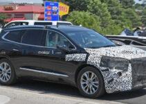 2021 Buick Enclave Spy Photos