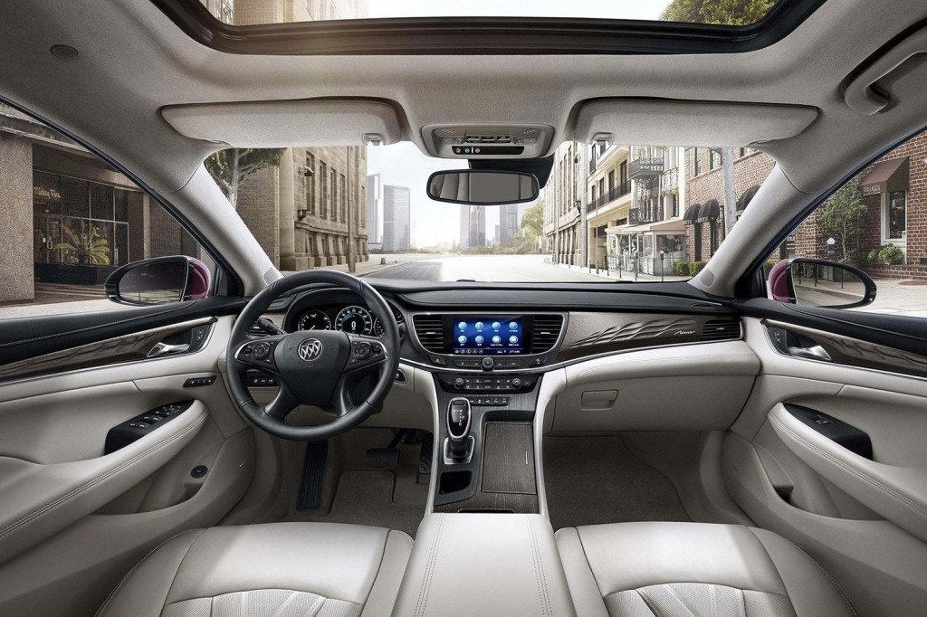 2021 Buick LaCrosses Interior