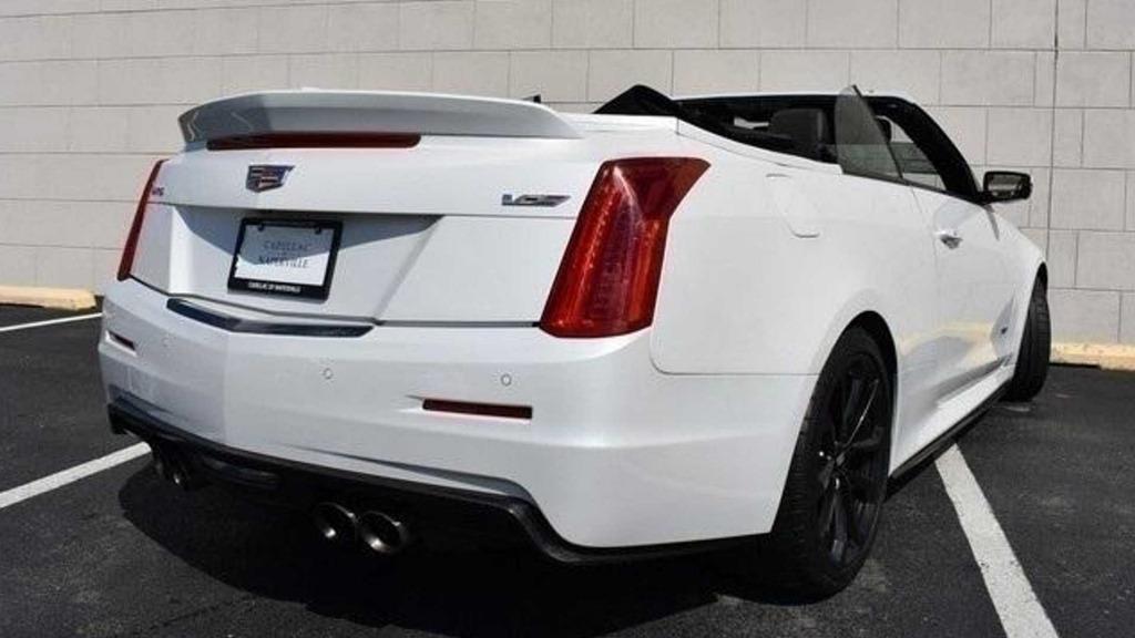 2021 Cadillac ATSV Coupe Interior