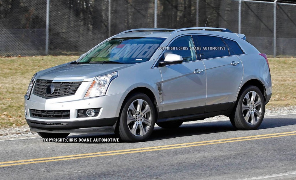 2021 Cadillac SRXSpy Photos Price