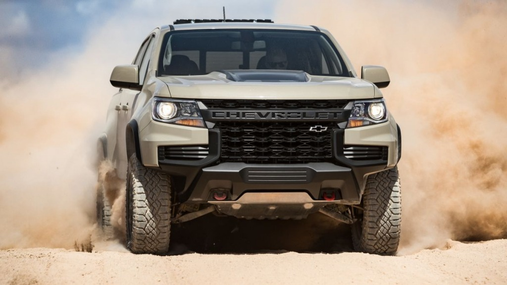 2021 Chevrolet Colorado Engine
