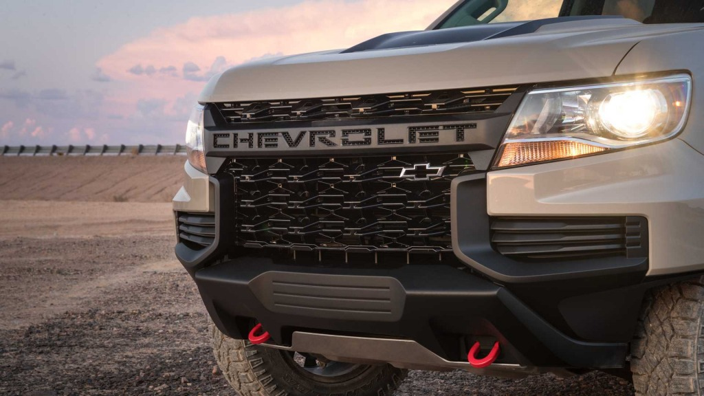 2021 Chevrolet Colorado Spy Shots