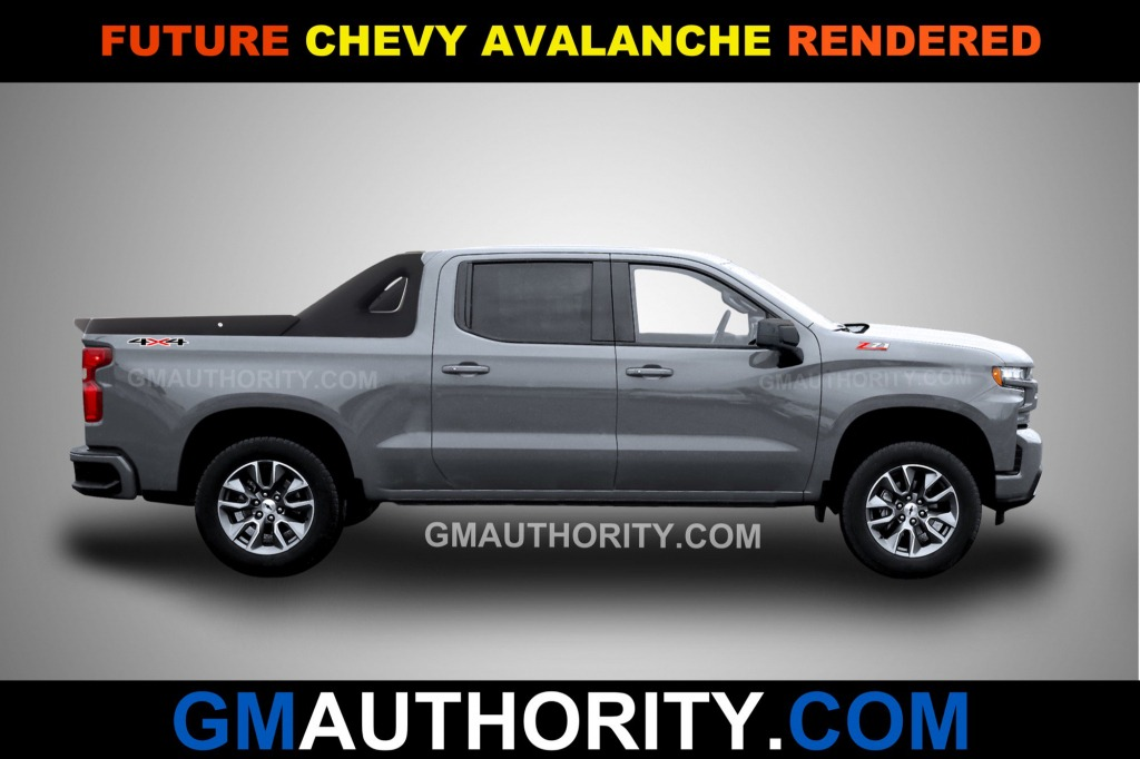 2021 Chevy Avalanche Images