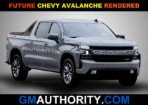 2021 Chevy Avalanche Spy Shots