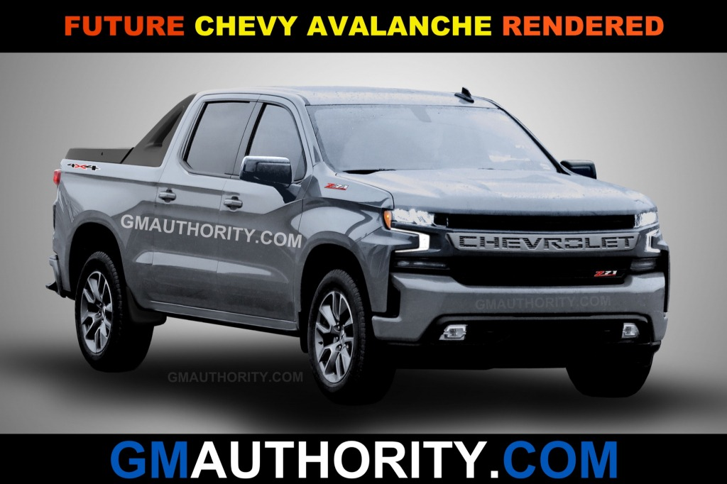 2021 Chevy Avalanche Spy Shots