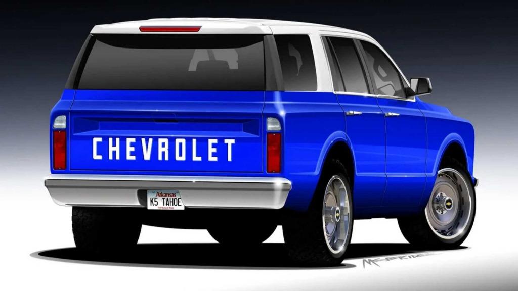 2021 Chevy Blazer K5 Concept