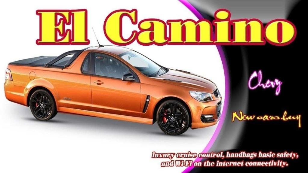 2021 Chevy El Camino Ss Spy Shots
