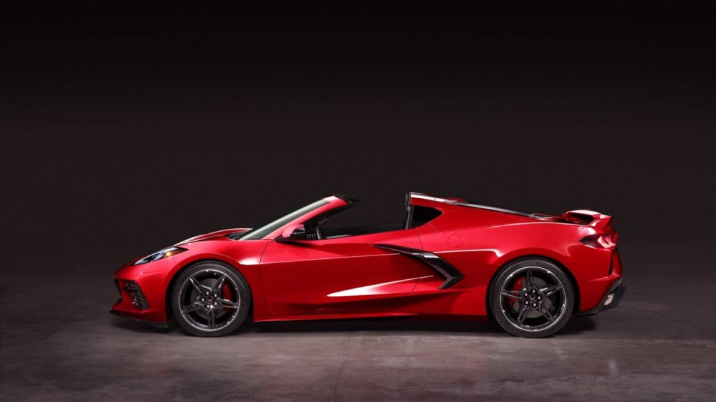 2021 Corvette Stingray Wallpaper