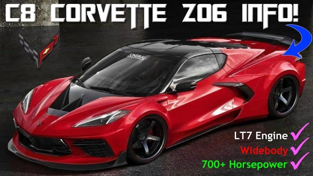 2021 Corvette Z07 Spy Shots