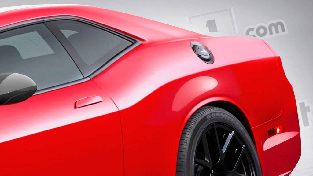 2021 Dodge Challenger Hellcat Interior