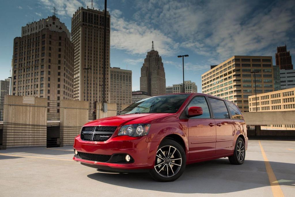 2021 Dodge Grand Caravan Pictures