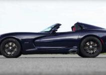 2021 Dodge Viper ACR Spy Shots