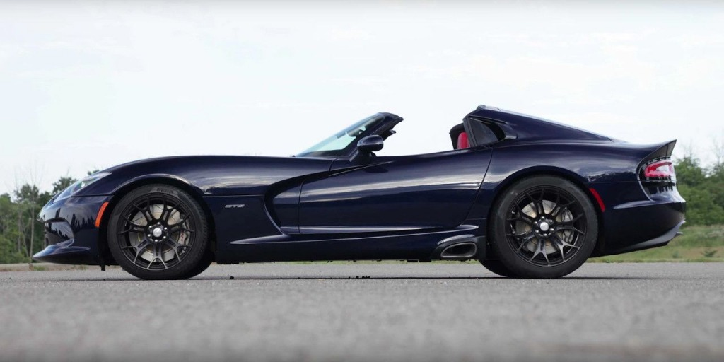 2021 Dodge Viper ACR Spy Shots