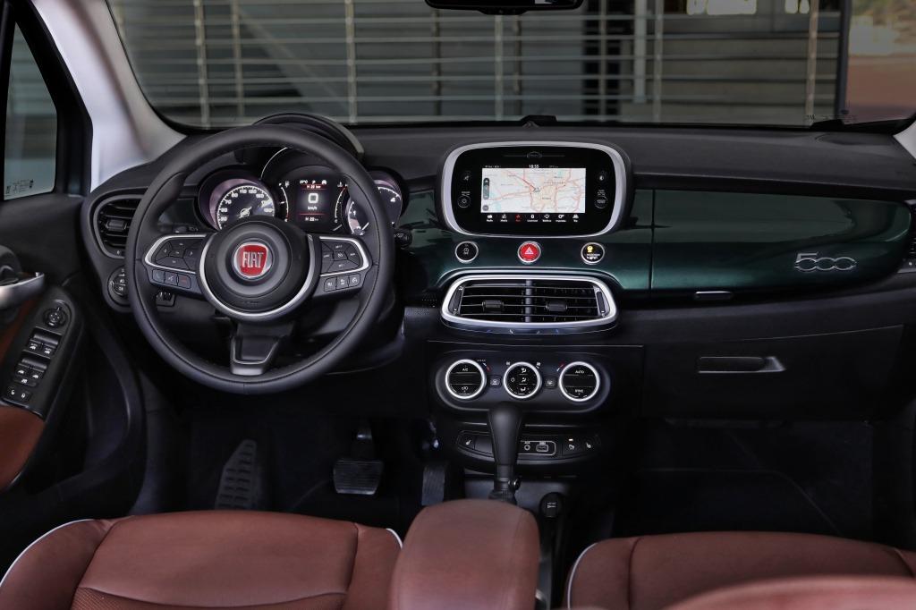 2021 Fiat 500X Powertrain