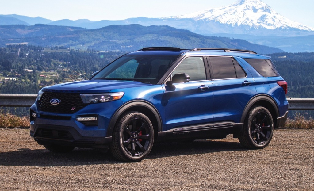 2021 Ford Explorer Sports Engine
