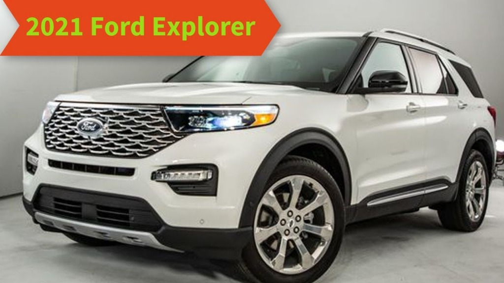 2021 Ford Explorer Sports Images