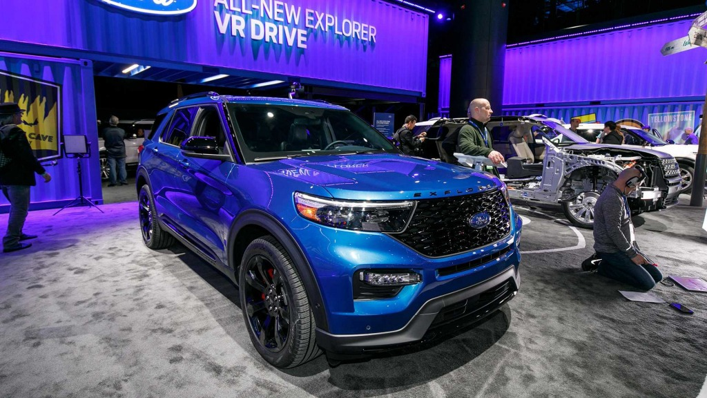 2021 Ford Explorer Sports Price