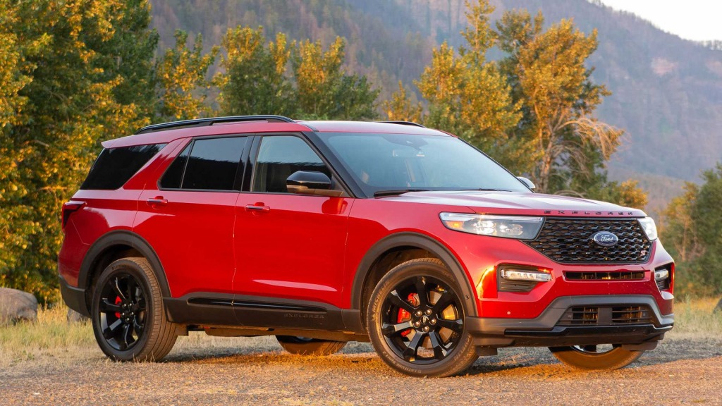 2021 Ford Explorer Sports Redesign