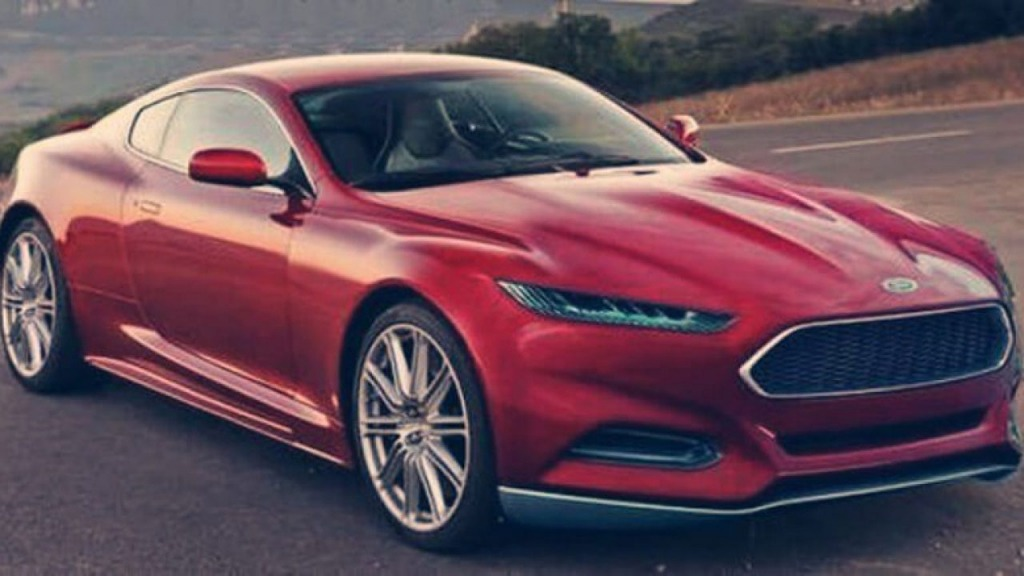 2021 Ford Thunderbird Spy Photos