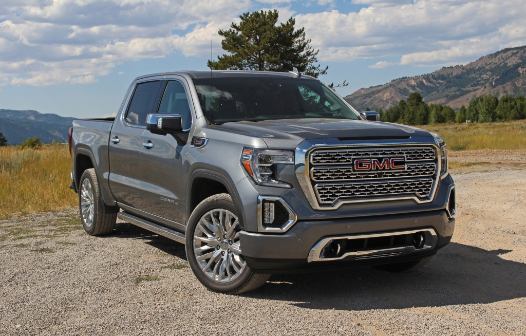 2021 GMC Sierra 1500 Spy Photos