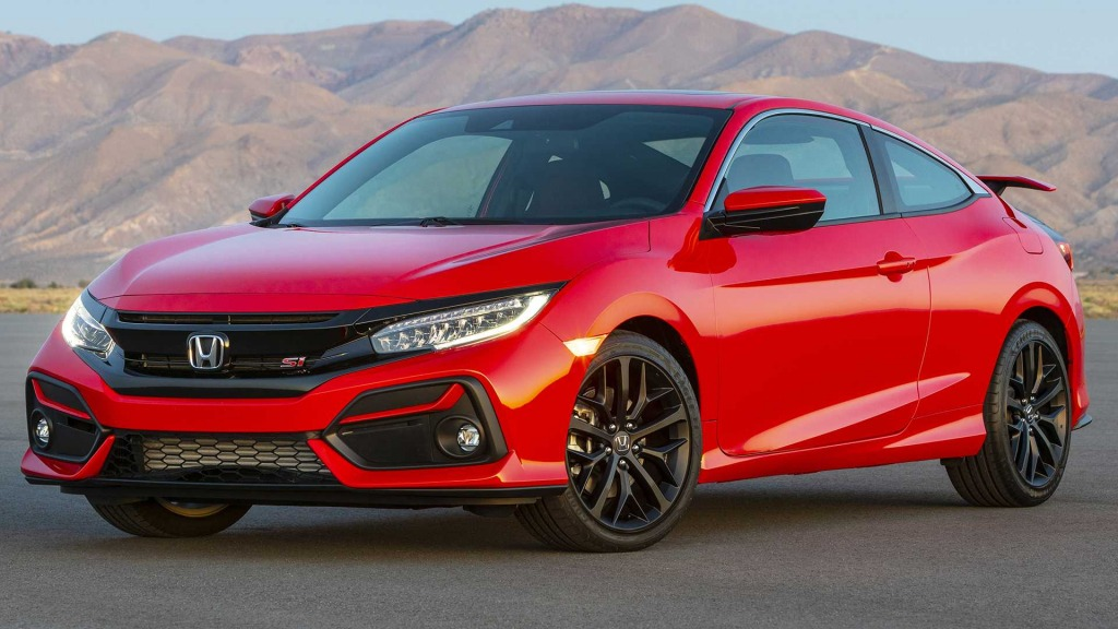 2021 Honda Civic Si Engine