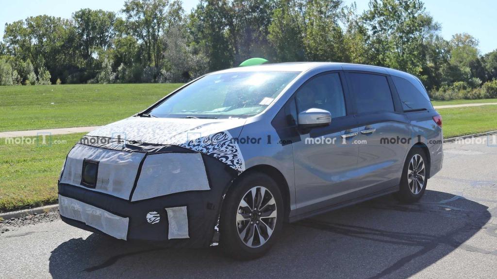 2021 Honda Odyssey Drivetrain
