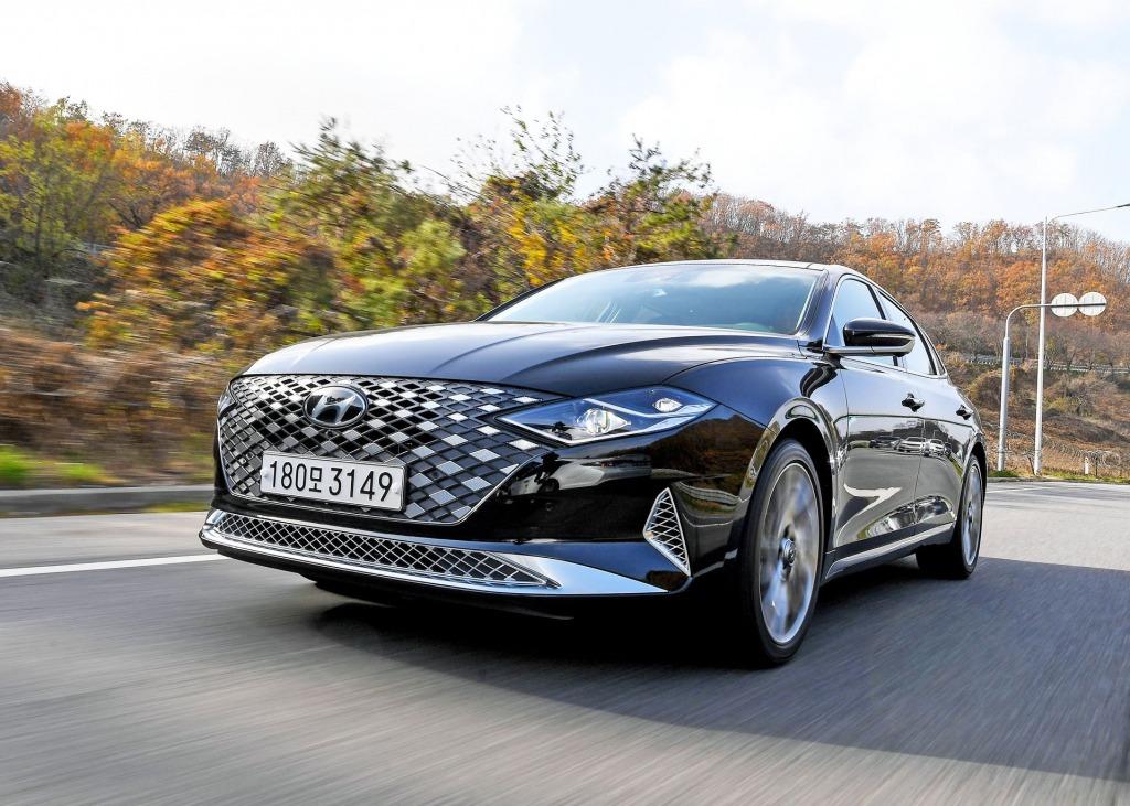 2021 Hyundai Azera Spy Photos