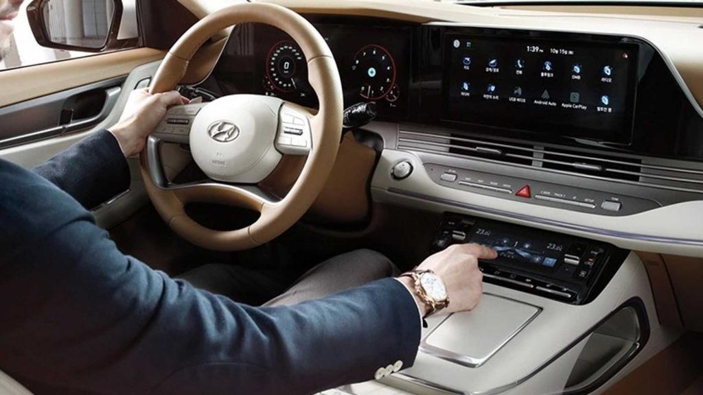 2021 Hyundai Azera Spy Shots