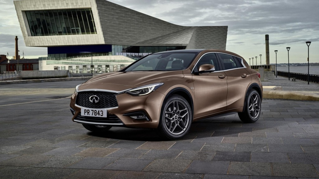 2021 Infiniti Q30 Spy Photos