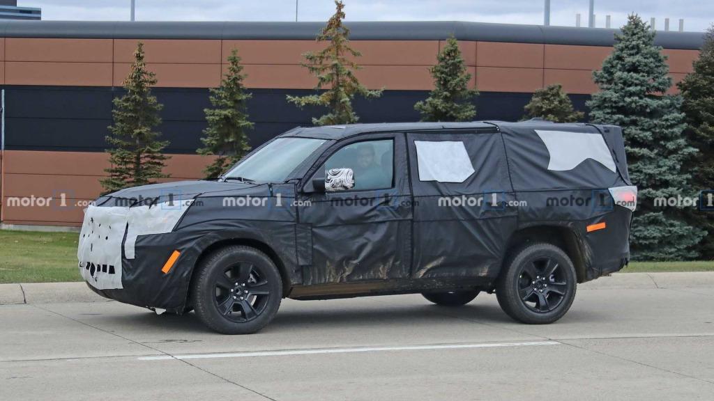 2021 Jeep Wrangler Spy Shots