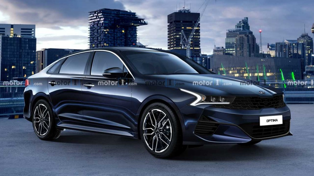 2021 Kia Optima Drivetrain