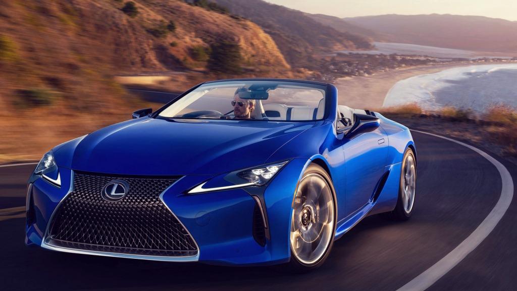 2021 Lexus LFLC Drivetrain