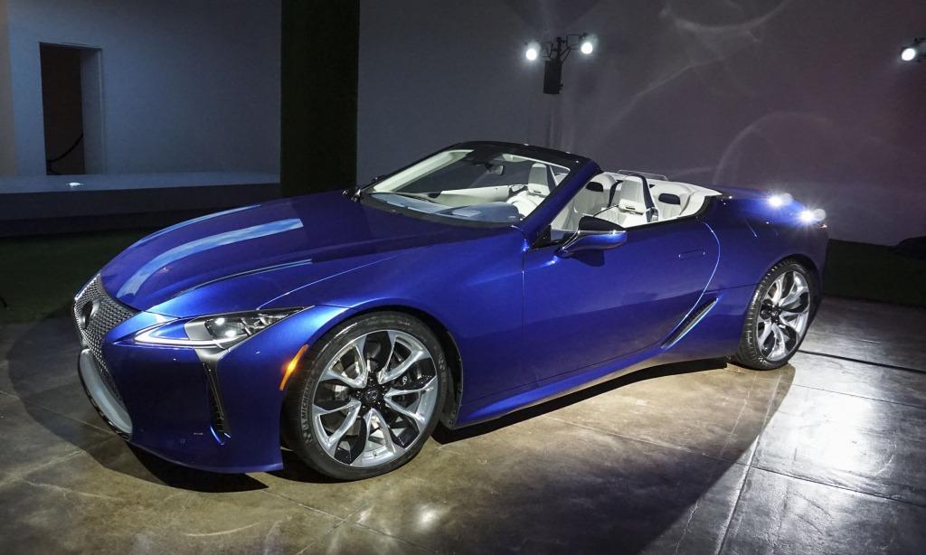 2021 Lexus LFLC Interior