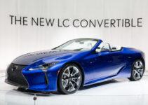 2021 Lexus SC Interior