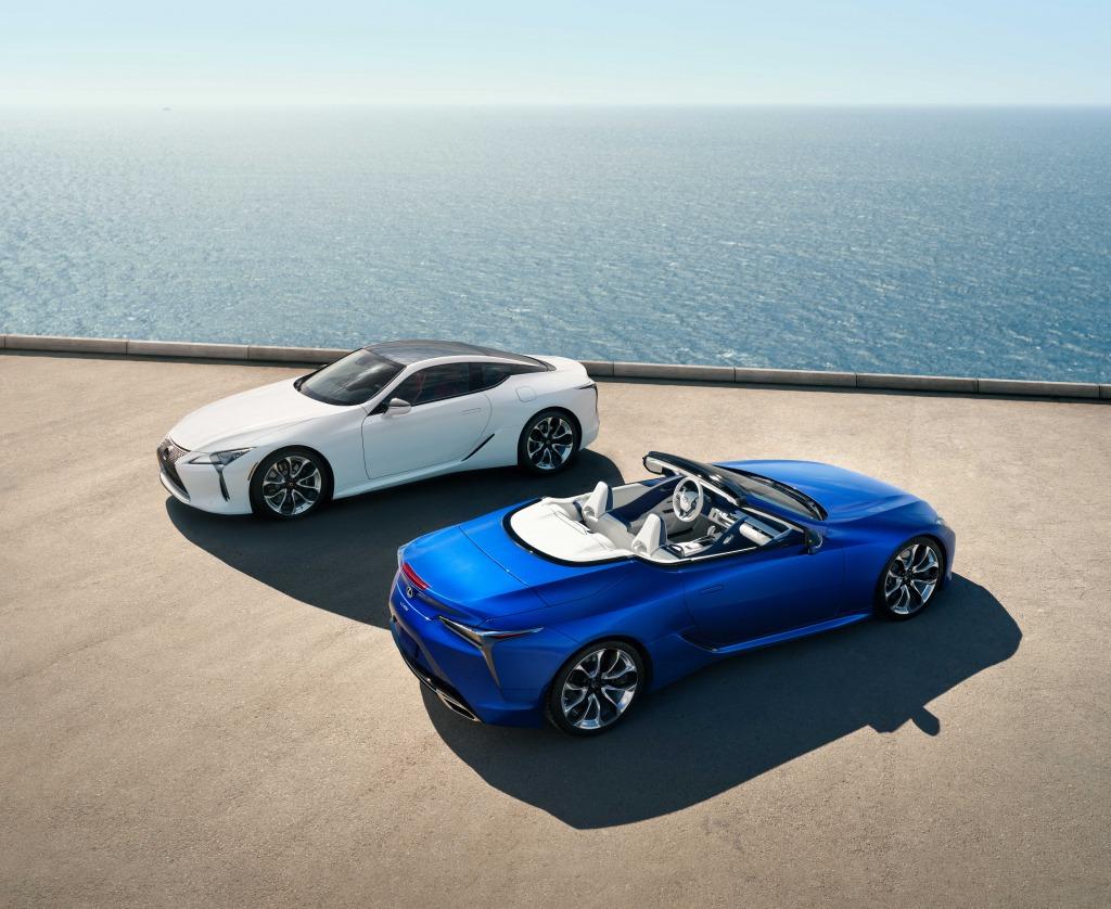 2021 Lexus SC Redesign