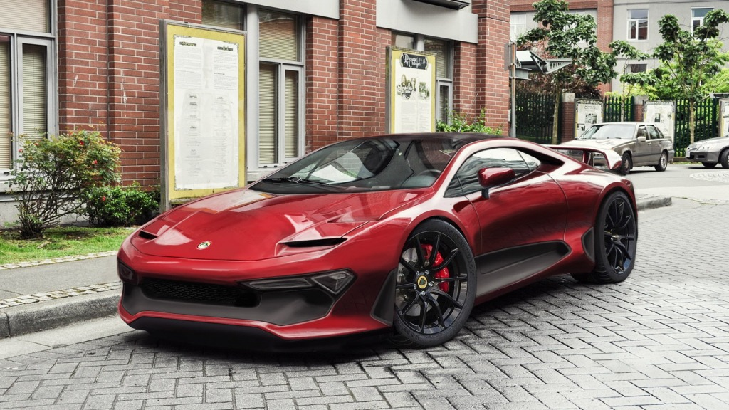 2021 Lotus Esprit Concept