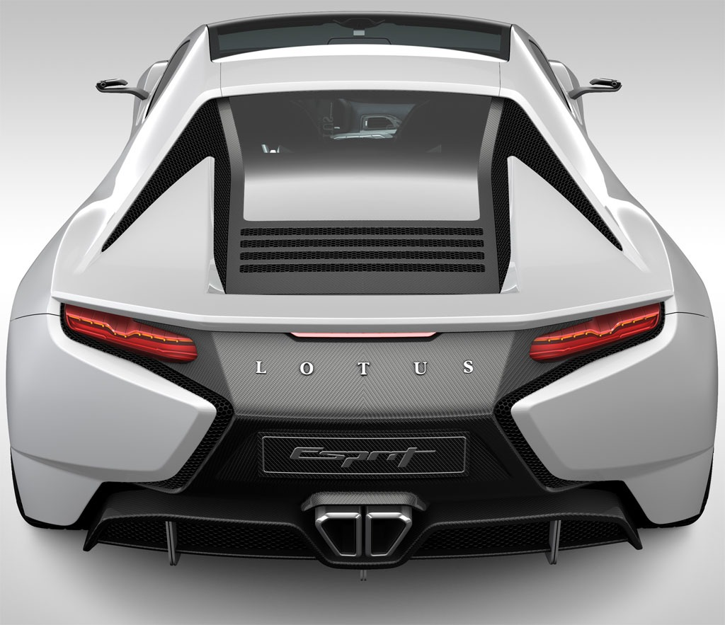 2021 Lotus Esprit Redesign